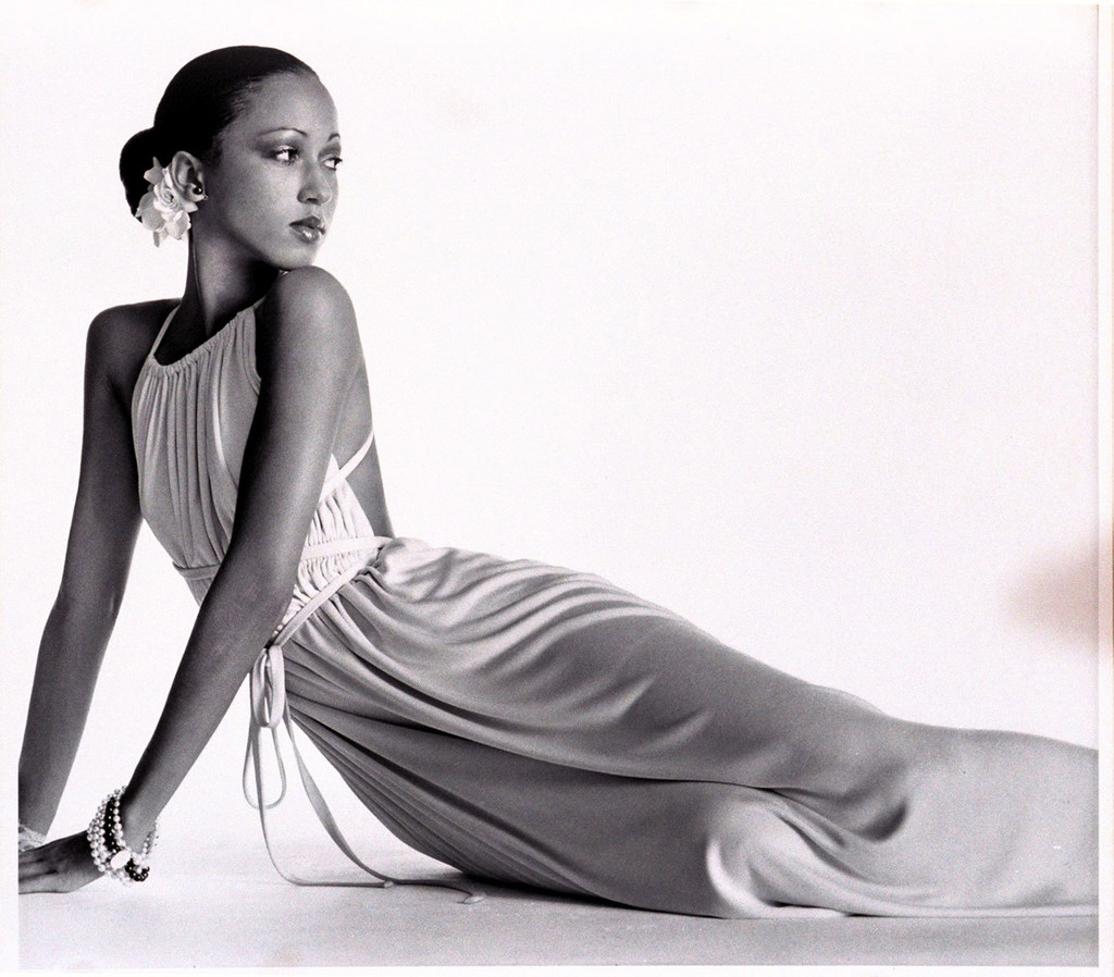 Pat Cleveland in a Classic Halton Tie Dress  Vintage - 60S Hairstyles