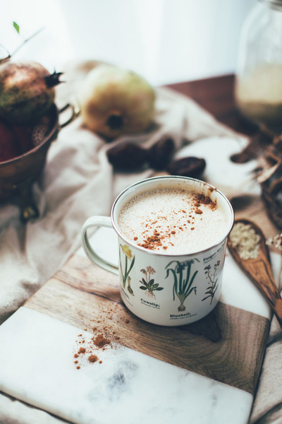 Chai Latte With Tahini