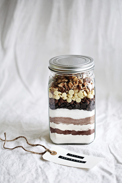 DIY Brownie Mix Jar