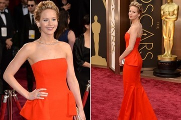 Vote for Jennifer Lawrence for Best Dressed at the Oscars