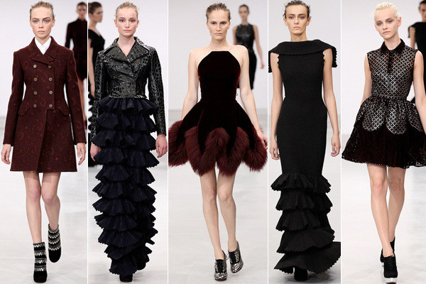 Elfin extravagance azzedine ala a couture fall 2011 for Designer alaia azzedine