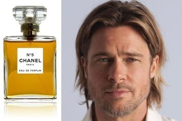 Brad Pitt Is Newest Face of Chanel No. 5