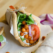 Roasted Chickpea Gyros