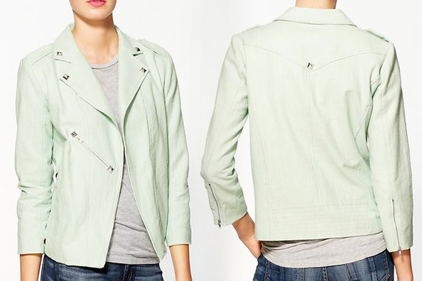 Line & Dot's Pale Green Jacket - The Prettiest Pastels for Spring ...