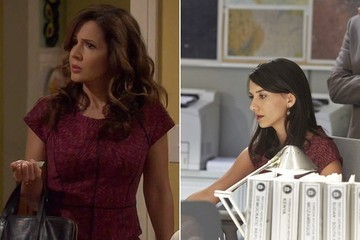 Seeing Double: Maria Canals-Barrera and Sheila Vand Flaunt the Same Structured Sheath