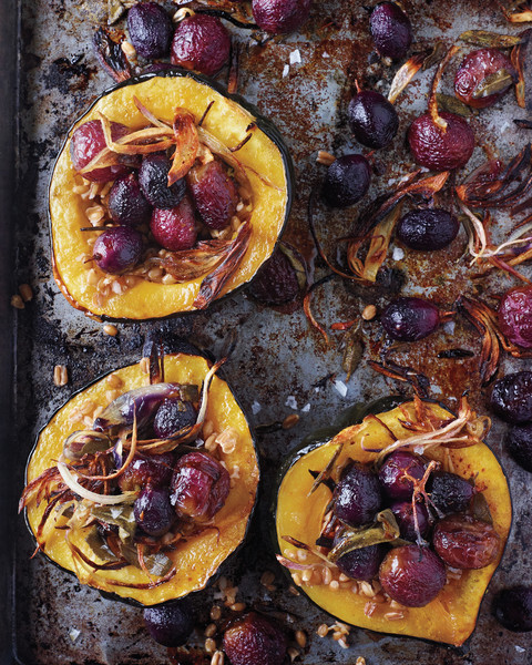 Roasted Squash with Shallots, Grapes, & Sage - The Most ...