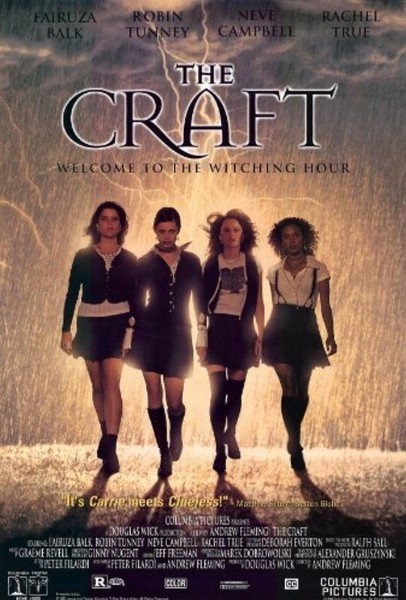 The Witchy, Goth-Cool Ensembles In 'The Craft'