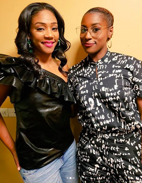 Issa Rae And Tiffany Haddish