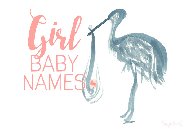 The Most Popular Girl Baby Names of 2015
