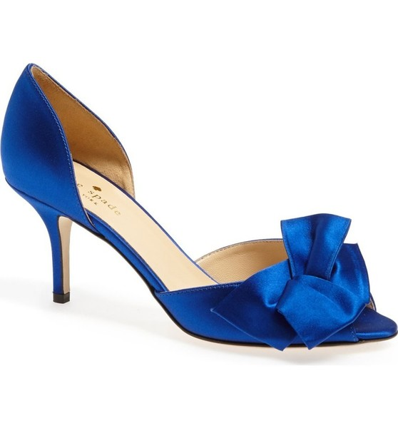 Royal Satin Pump