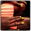 Lela Rose, Fall 2013 Nails