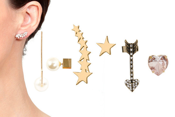 Mismatched Earring Pairs