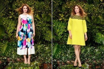 Lela Rose Designs a Plus-Size Collection for Lane Bryant