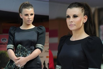 Great Hair Day: Coleen Rooney's Sleek Ponytail
