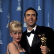 Nick Cage And Patricia Arquette, 1996