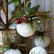 Styrofoam Ball Ornament