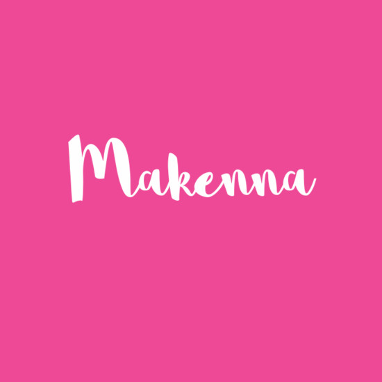 Makenna - Beautiful Baby Names That Mean Joy - Livingly