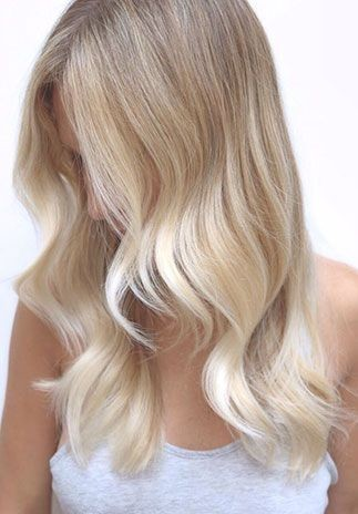 Sandy Blonde Color