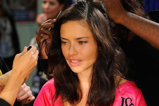 Hair and Makeup at the 2011 Victoria's Secret Fashion Show