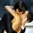 2003: Adrien Brody Gives Halle Berry A Big Smooch On Stage