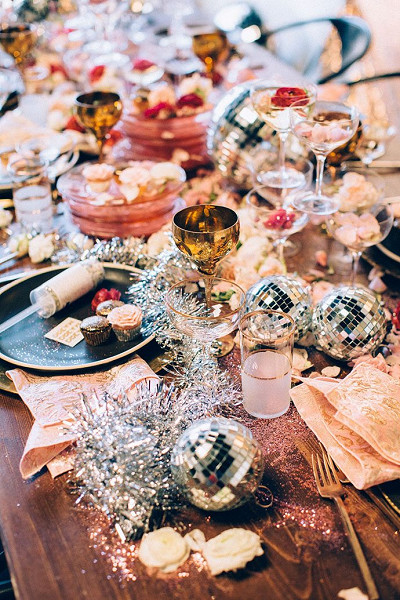 Sparkly Party Table
