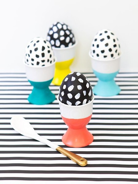 DIY Dipped Easter Egg Cups