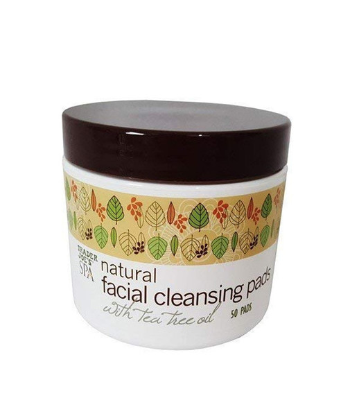 Spa Natural Facial Cleansing Pads with Tea Tree Oil