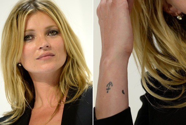 Kate Moss's Anchor