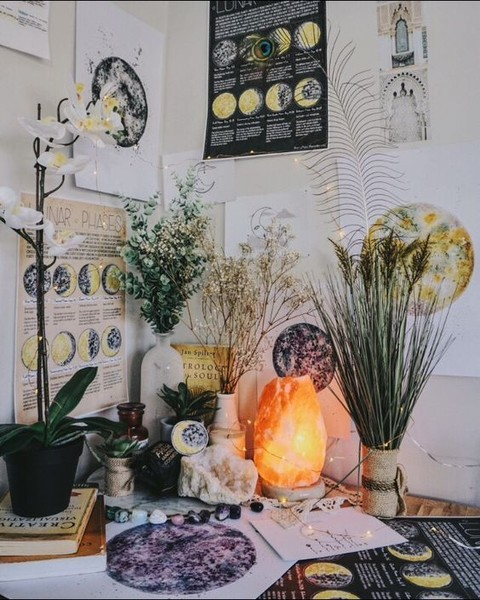 Create a sacred space.
