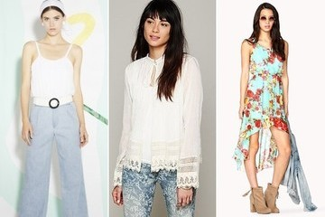 Denim, Lace, and Florals Oh My + Some Other Things I Have My Eyes on for Spring