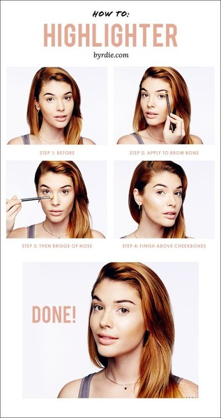 How to: Highlighter in 4 Steps