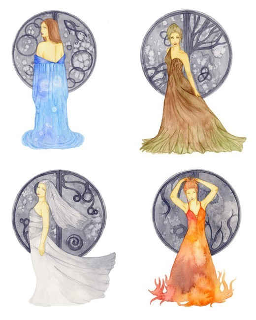 Your Guide To The Four Elements In Astrology
