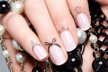 Nail Trend To Try: Cuticle Tattoos