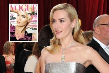 Kate Winslet Goes Platinum Blond for British 'Vogue'