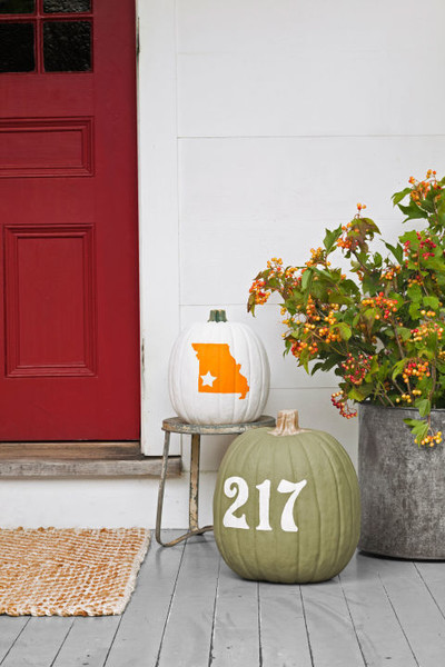 Address and State Pumpkins
