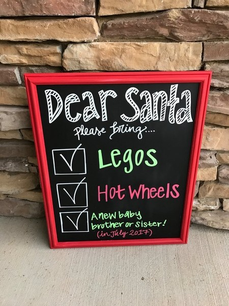 Do A Dear Santa Announcement