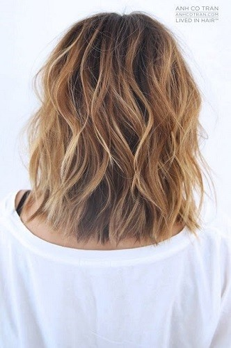 Long Bob Beach Waves , Beach Wave Hair Ideas That Will Have
