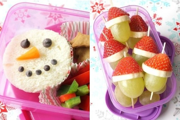 Christmas-Themed Lunchbox