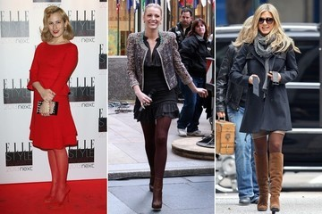 Easy Outfit Upgrade: Match Your Tights to Your Shoes