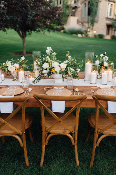 Could this setup work just as well for a bridal shower, or even a birthday party?
