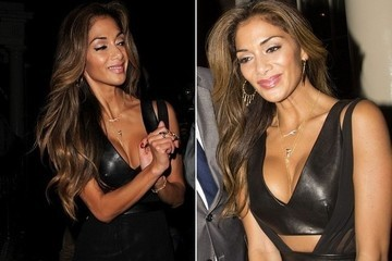 Do You Like Nicole Scherzinger's Sexy Leather Dress?