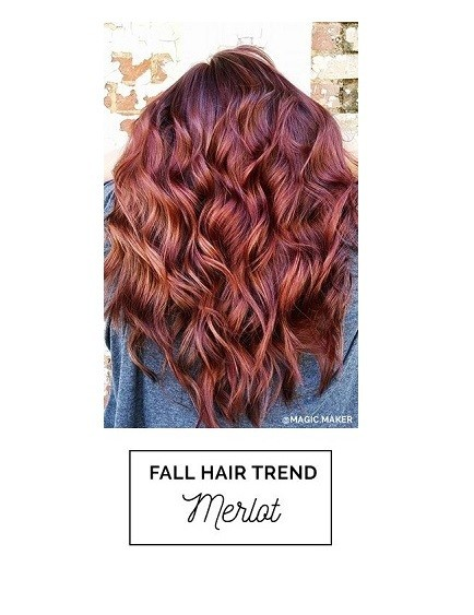 Merlot  Fall Hair Color Ideas Straight From Pinterest  Livingly