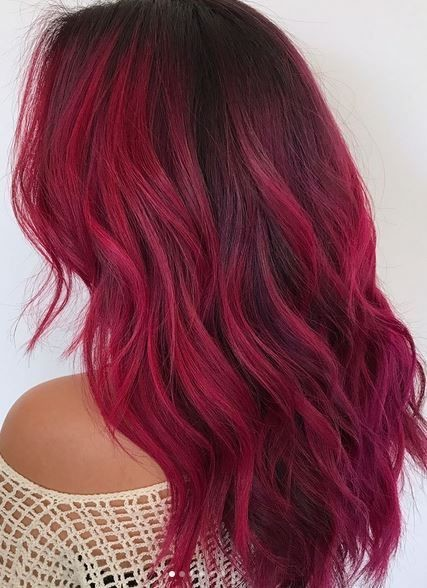 Magenta Red Color