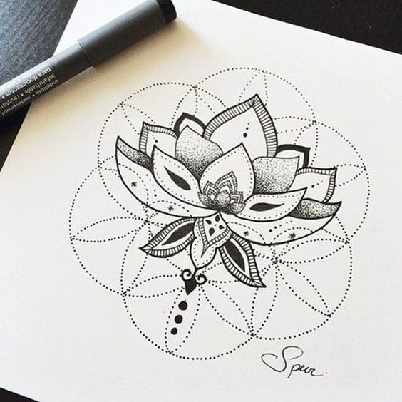 Intricate Lotus