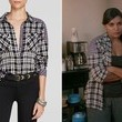 Mindy Kaling's Mixed-Plaid Button-Down on 'The Mindy Project'