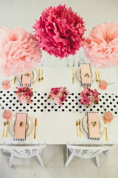 Pink & Polka Dot Brunch