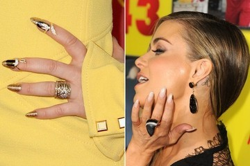 10 of the Coolest Stiletto Nails in Hollywood—So Far
