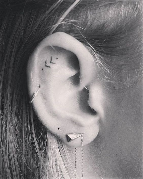 17 Best Images About Movie Tv Game Tattoos On Pinterest: Helix Ear Tattoos That Are So Much
