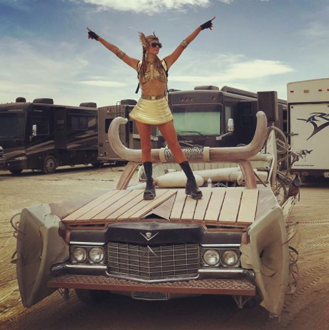 Going Full Mad Max At Burning Man In 2016