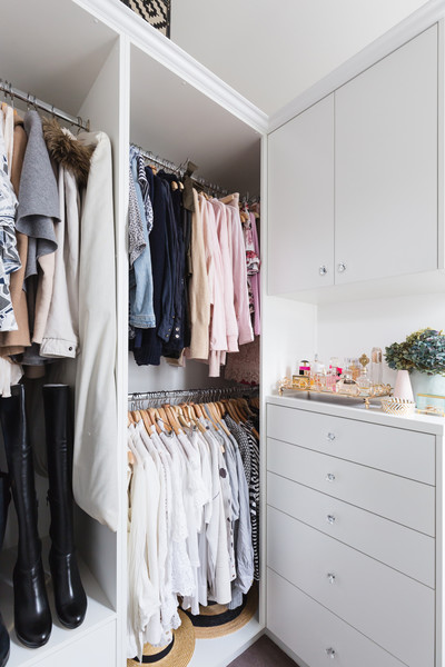 Closet Organization Tip #1: Organize With Intenion